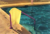 Pool with Yellow Towel